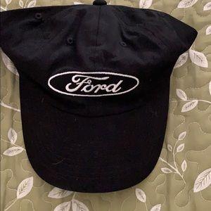 Ford Emblem Black Ball Cap